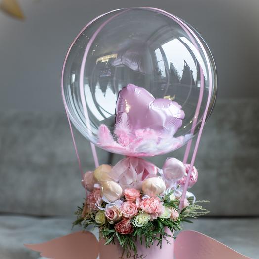 """""""Love can fly"""": букеты цветов на заказ Flowwow"""