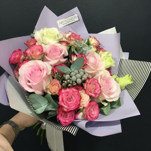 Букет: букеты цветов на заказ Flowwow