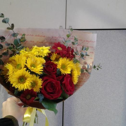 Синергия: букеты цветов на заказ Flowwow
