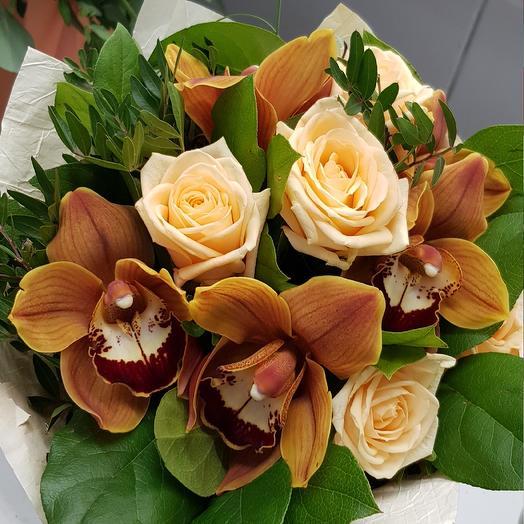 Утренний кофе: букеты цветов на заказ Flowwow