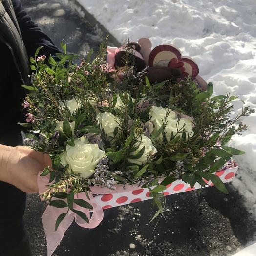 Расслабься дорогая: букеты цветов на заказ Flowwow