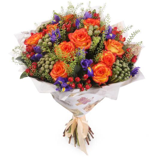 "Букет ""Костер чувств"": букеты цветов на заказ Flowwow"