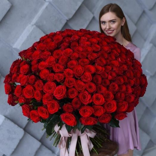 Premium roses: букеты цветов на заказ Flowwow