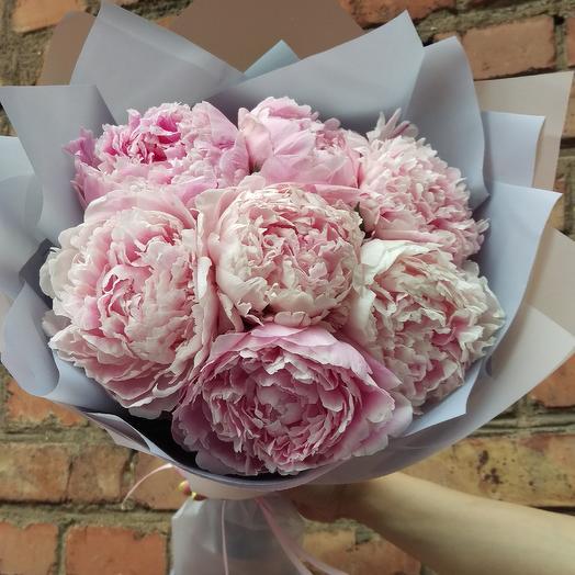 Прекрасные пионы: букеты цветов на заказ Flowwow