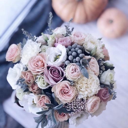 Букет невесты «номер 1»: букеты цветов на заказ Flowwow