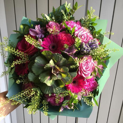 Роковое влечение: букеты цветов на заказ Flowwow