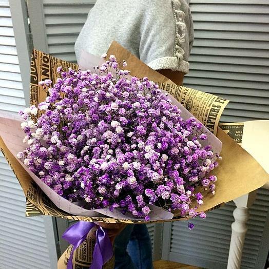 Сиреневый туман): букеты цветов на заказ Flowwow