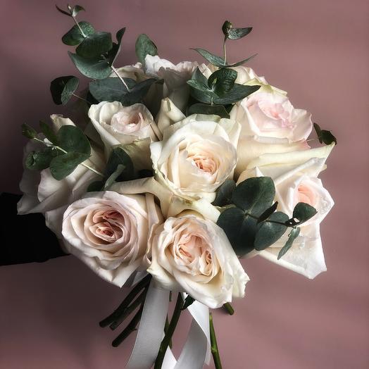 Нежность Whitе O Hara: букеты цветов на заказ Flowwow