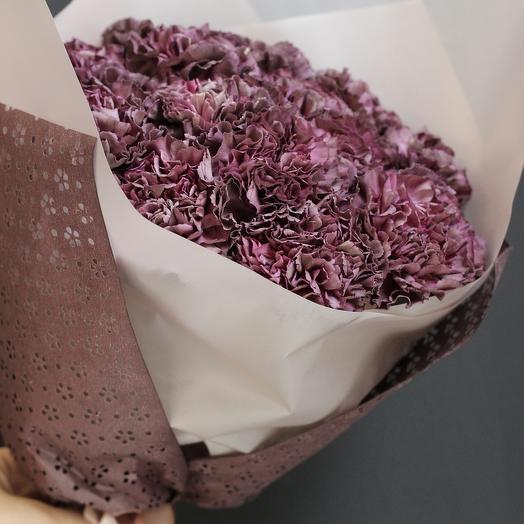 Кулек Диантусов: букеты цветов на заказ Flowwow
