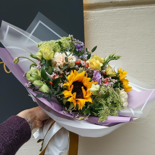 Утро на даче: букеты цветов на заказ Flowwow