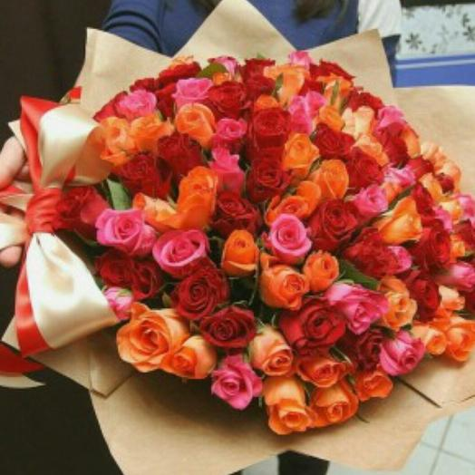 Букет 101 розы