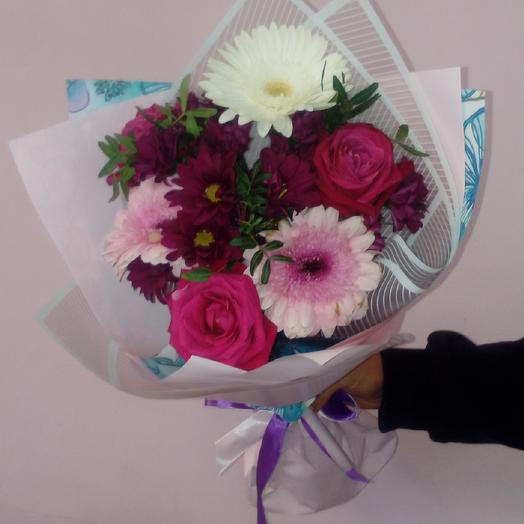"Букет""Фиолетовое облако"": букеты цветов на заказ Flowwow"