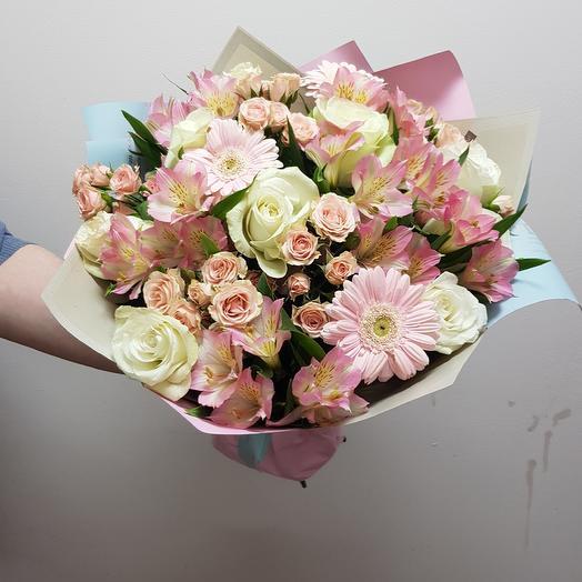 Букет САМА НЕЖНОСТЬ: букеты цветов на заказ Flowwow