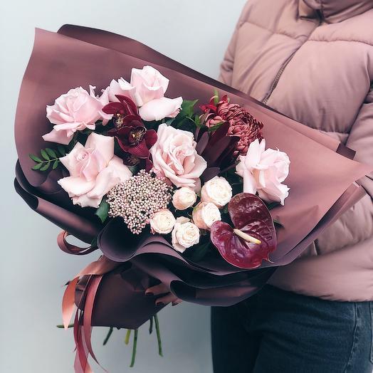 Букет 0099: букеты цветов на заказ Flowwow