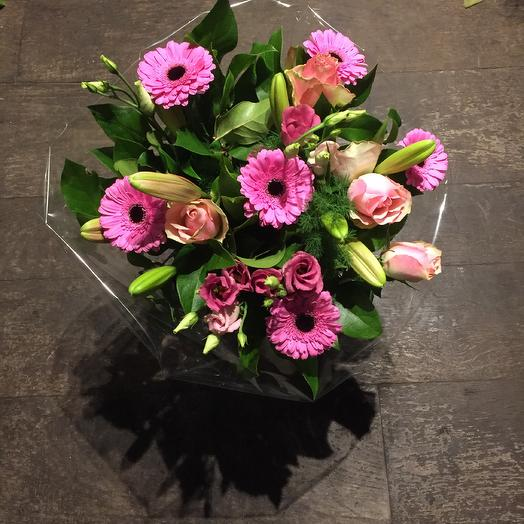 Pink mix bouquet