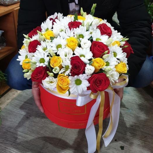 """коробка с цветами """"Богатство"""""""