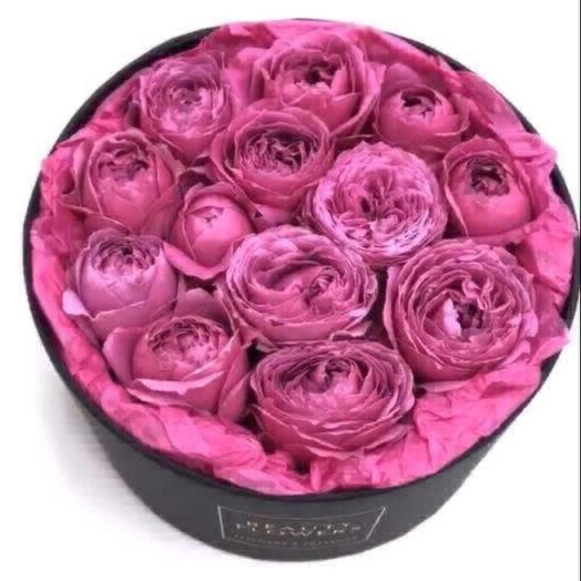 Коробочка пионовидной: букеты цветов на заказ Flowwow