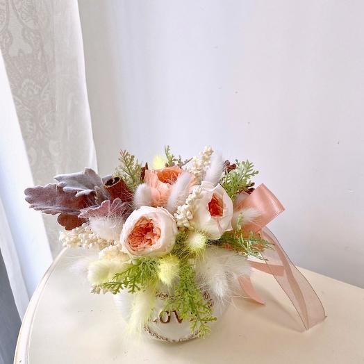 Композиция Love pearl: букеты цветов на заказ Flowwow