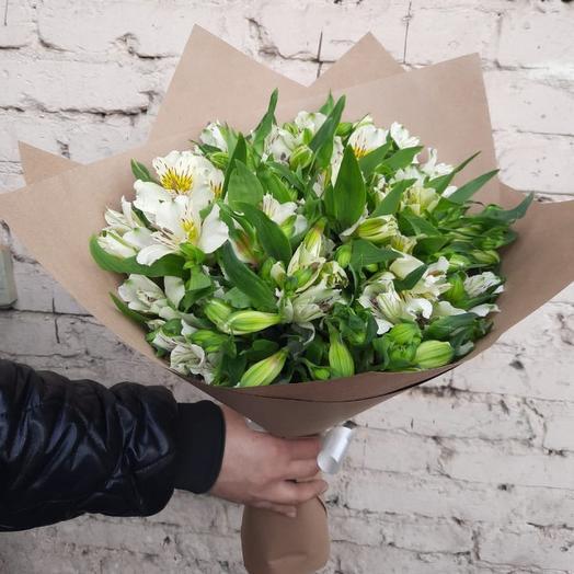 Букет из 19 альстромерий: букеты цветов на заказ Flowwow