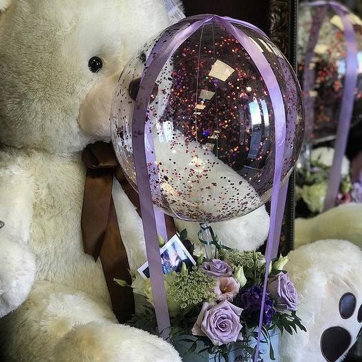 Мишка: букеты цветов на заказ Flowwow