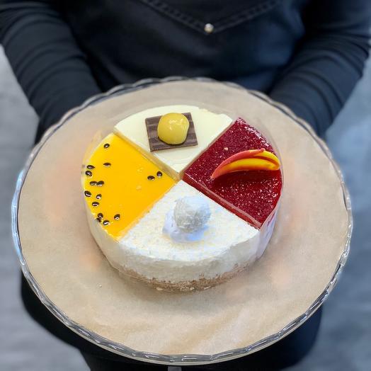 Торт «фруктово-ягодное ассорти» мини