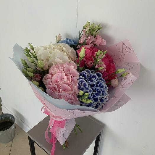 Букет Облако из гортензий: букеты цветов на заказ Flowwow