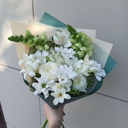 Освежающий микс: букеты цветов на заказ Flowwow