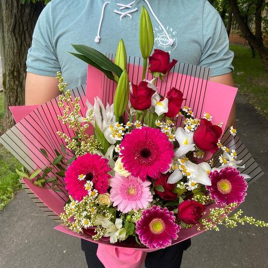 Букет «Королева любви»: букеты цветов на заказ Flowwow