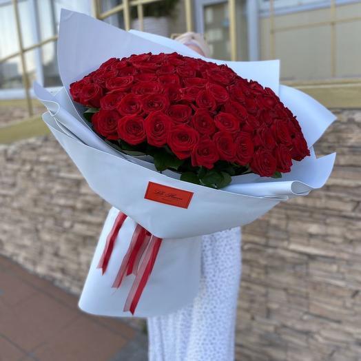 101 шикарная роза Казань