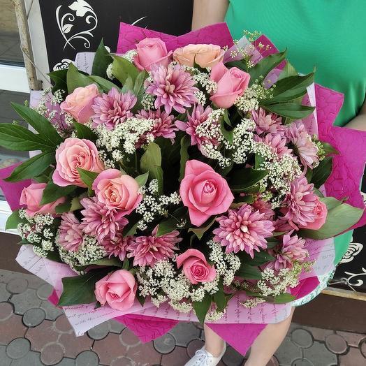 Розовый зефир