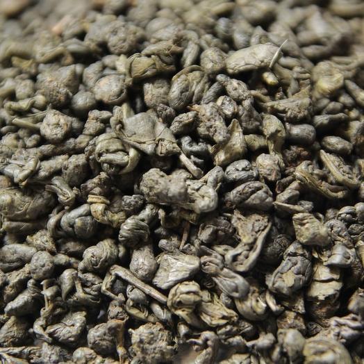 Жасминовый зеленый чай Ганпаудер