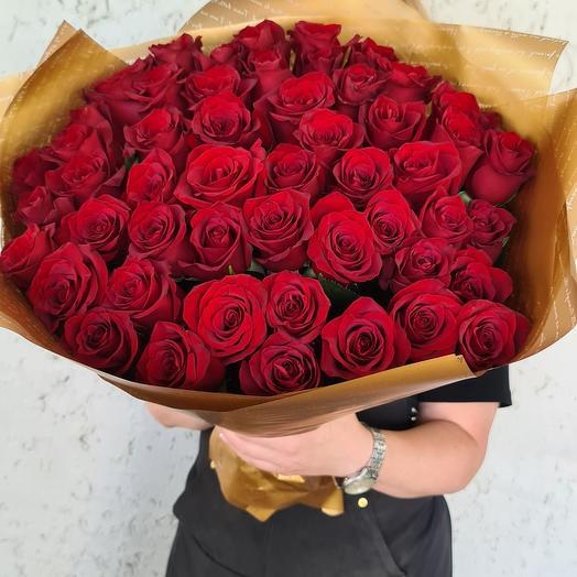 51 роза импортная роза