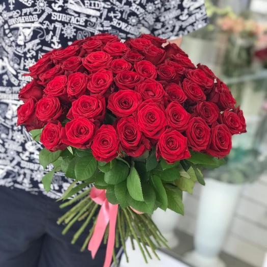 ✅ Букет 51 Красная роза Хит