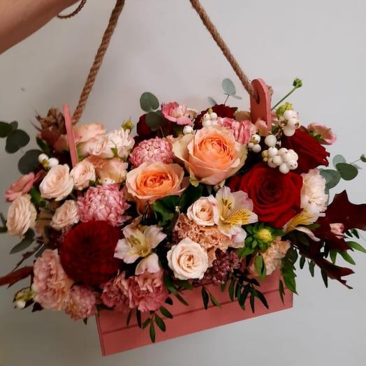 Ящик с цветами Вдохновение