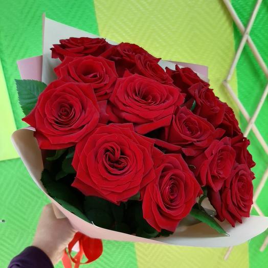 Букетик из красныз роз