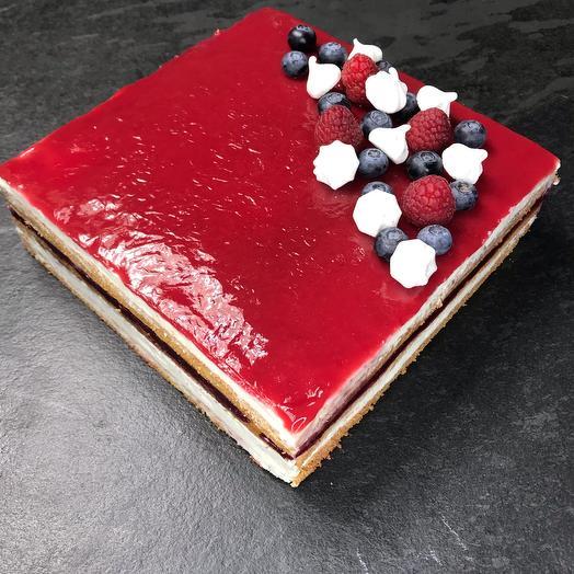 Фитнес торт Ягодная опера