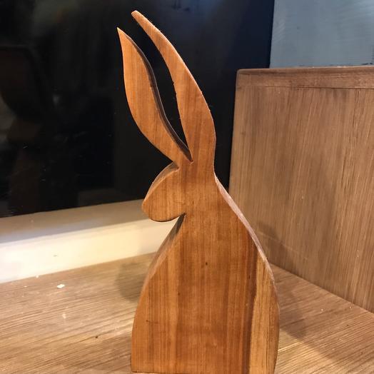 Деревянный зайка