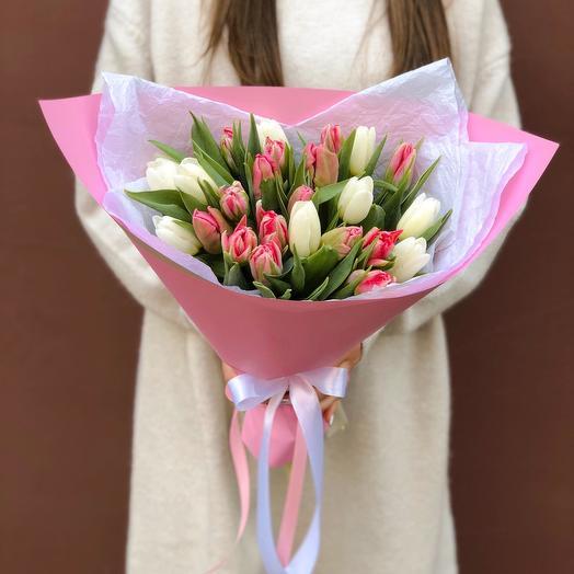 Тюльпаны 21шт