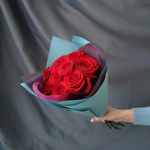 """Букет""""9 красных роз"""""""