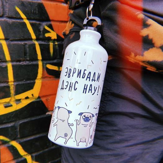 Спортивная бутылка FanStuff Эврибади дэнс нау