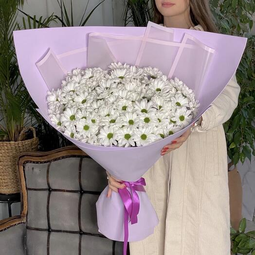 """Giant bouquet with daisies """" XL"""""""