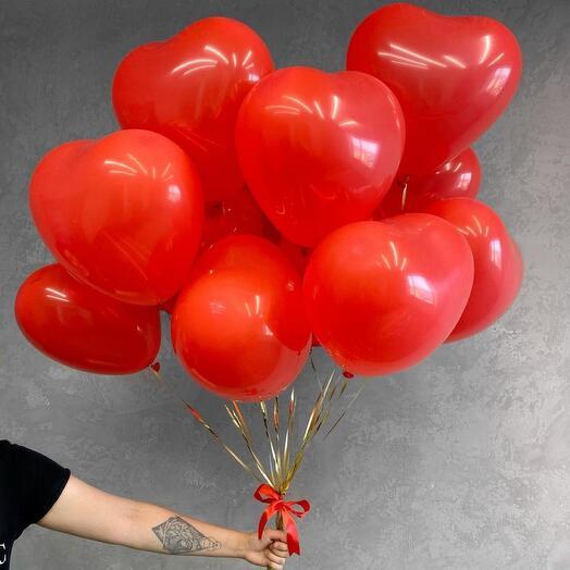 17 balls of hearts
