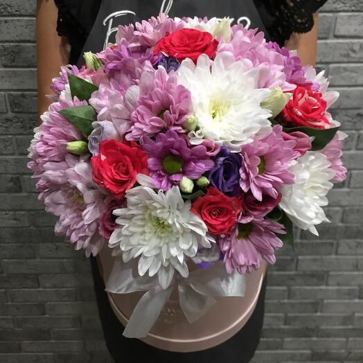 Цветы в коробке 05770