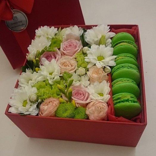Коробочка Сочные краски: букеты цветов на заказ Flowwow
