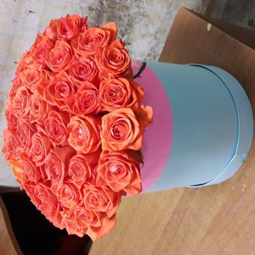 35 роза коралл: букеты цветов на заказ Flowwow