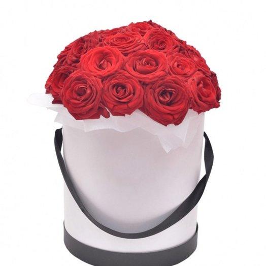 Цветы в коробке 6: букеты цветов на заказ Flowwow