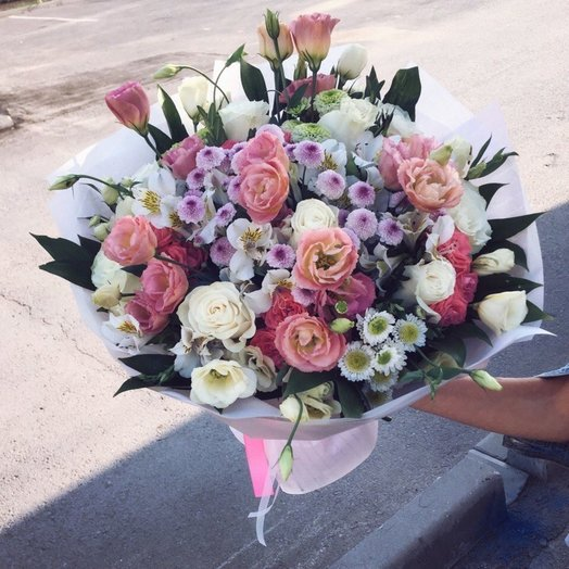 Нежная долина: букеты цветов на заказ Flowwow