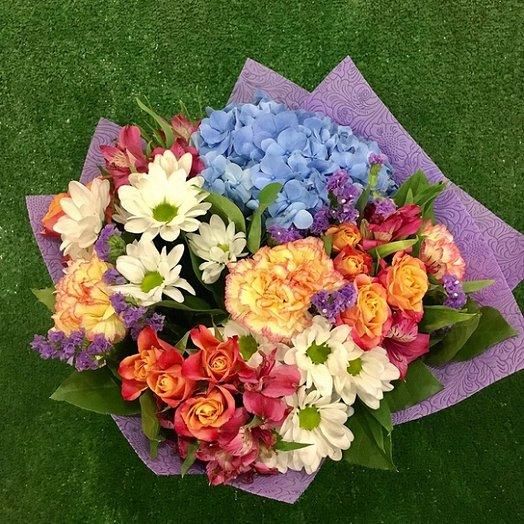 Цветочный порыв: букеты цветов на заказ Flowwow
