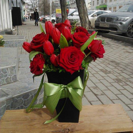 Пламя страсти: букеты цветов на заказ Flowwow