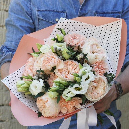 Нежная Эмма: букеты цветов на заказ Flowwow